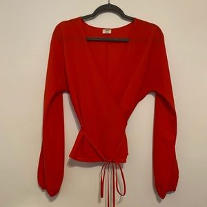 Wilfred lilia wrap top!